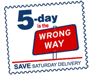 Five Day is the Wrong Way
