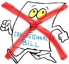 Image result for failed congressional bill