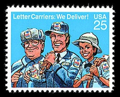 Letter Carrier Stamp
