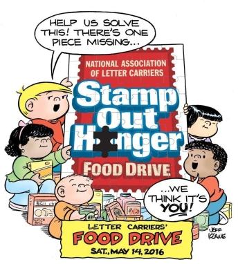 Food Drive Cartoon 2016